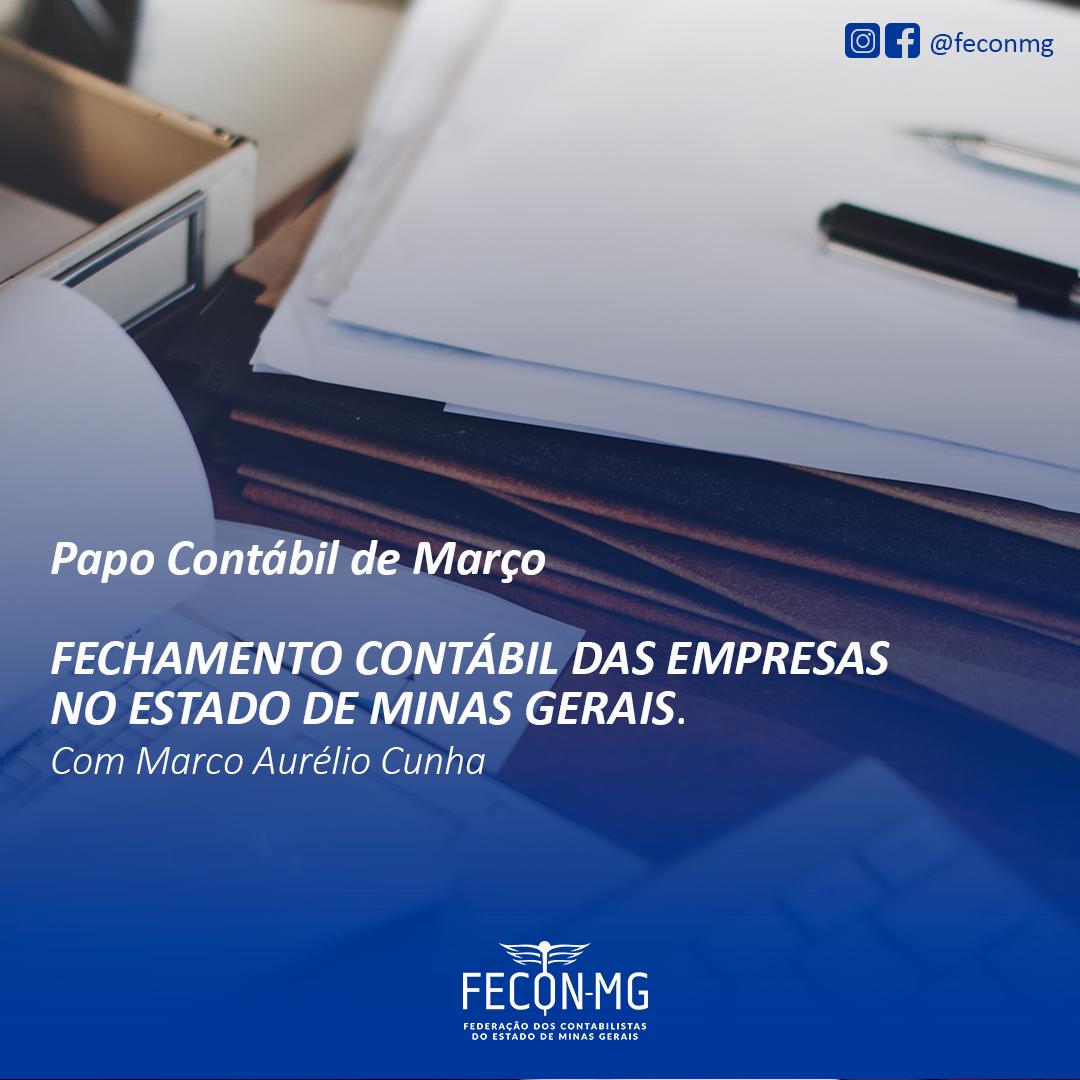 BALANÇO CONTÁBIL ANUAL COM MARCO AURÉLIO CUNHA
